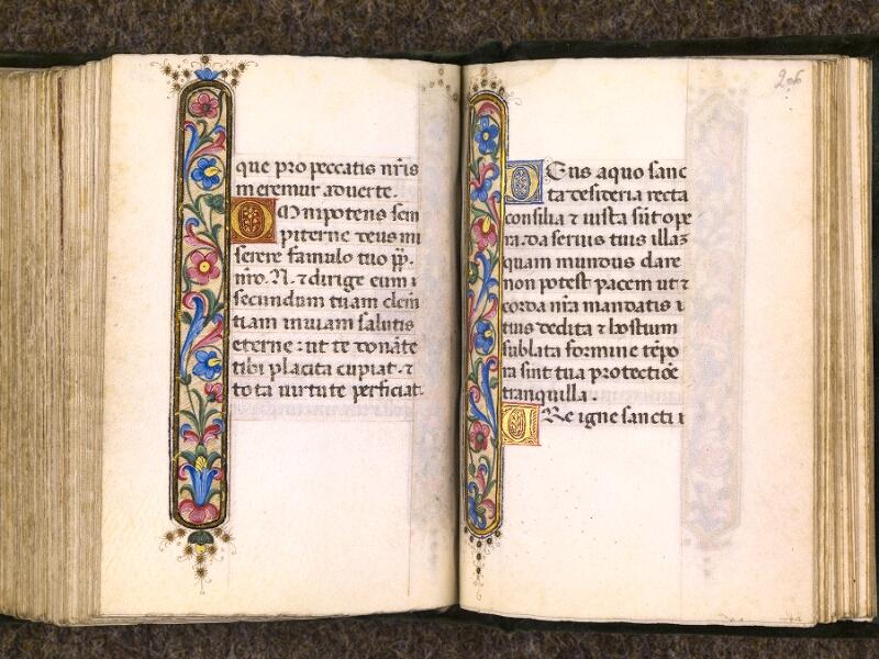 CHANTILLY, Bibliothèque du château, 0084 (0071), f. 205v - 206