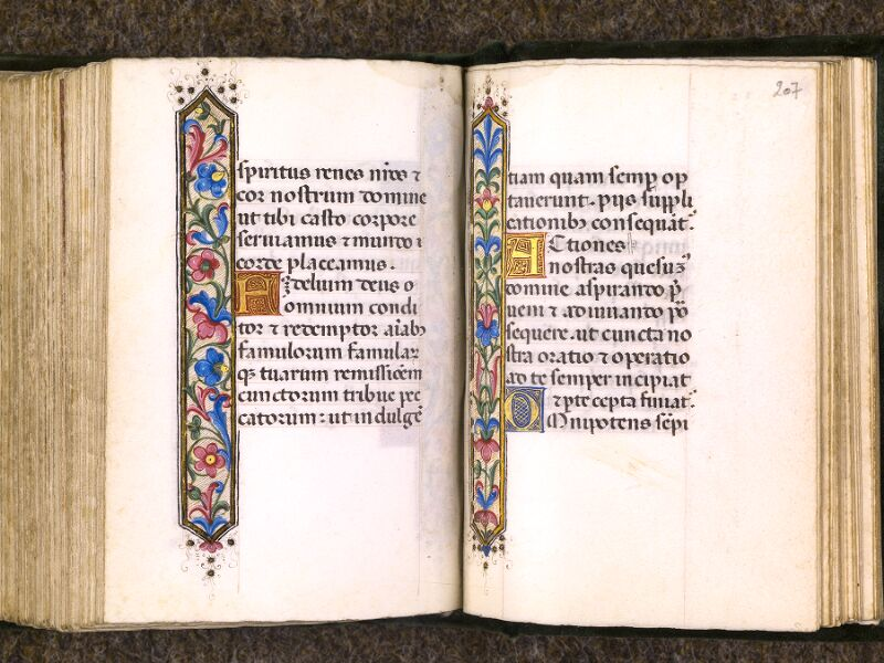 CHANTILLY, Bibliothèque du château, 0084 (0071), f. 206v - 207