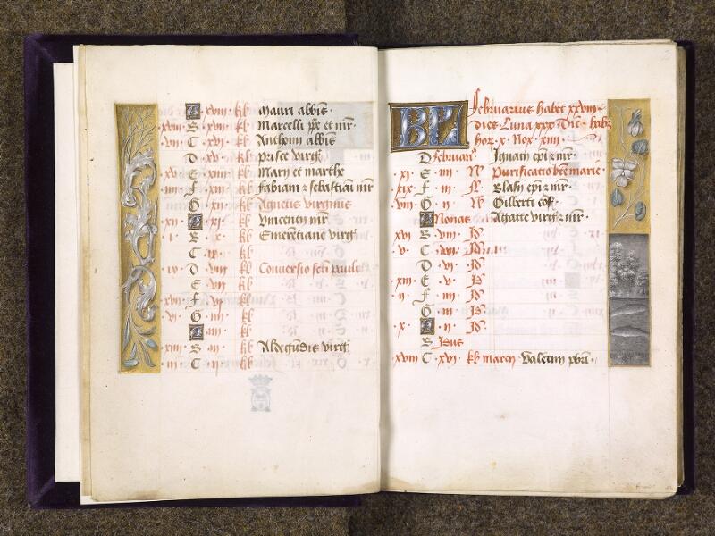 CHANTILLY, Bibliothèque du château, 0085 (1175), f. 001v - 002