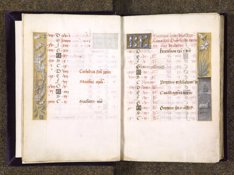 CHANTILLY, Bibliothèque du château, 0085 (1175), f. 002v - 003