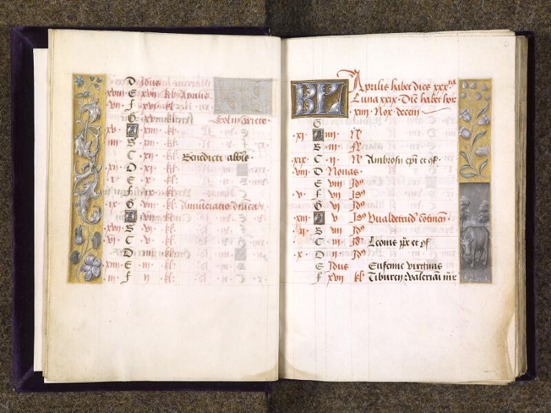 CHANTILLY, Bibliothèque du château, 0085 (1175), f. 003v - 004