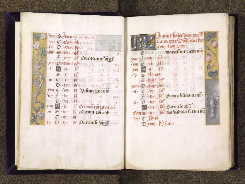 CHANTILLY, Bibliothèque du château, 0085 (1175), f. 005v - 006