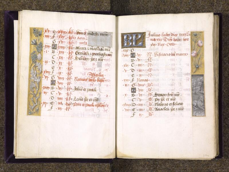 CHANTILLY, Bibliothèque du château, 0085 (1175), f. 006v - 007