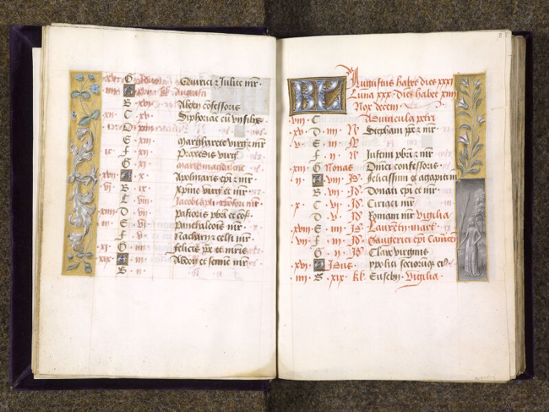 CHANTILLY, Bibliothèque du château, 0085 (1175), f. 007v - 008