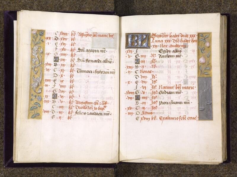 CHANTILLY, Bibliothèque du château, 0085 (1175), f. 008v - 009
