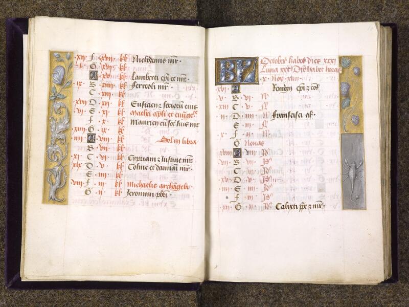 CHANTILLY, Bibliothèque du château, 0085 (1175), f. 009v - 010