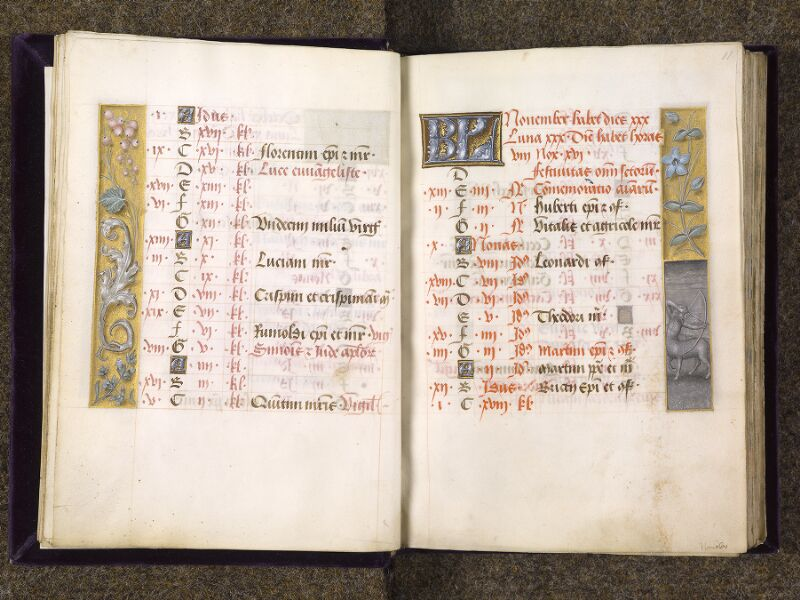 CHANTILLY, Bibliothèque du château, 0085 (1175), f. 010v - 011