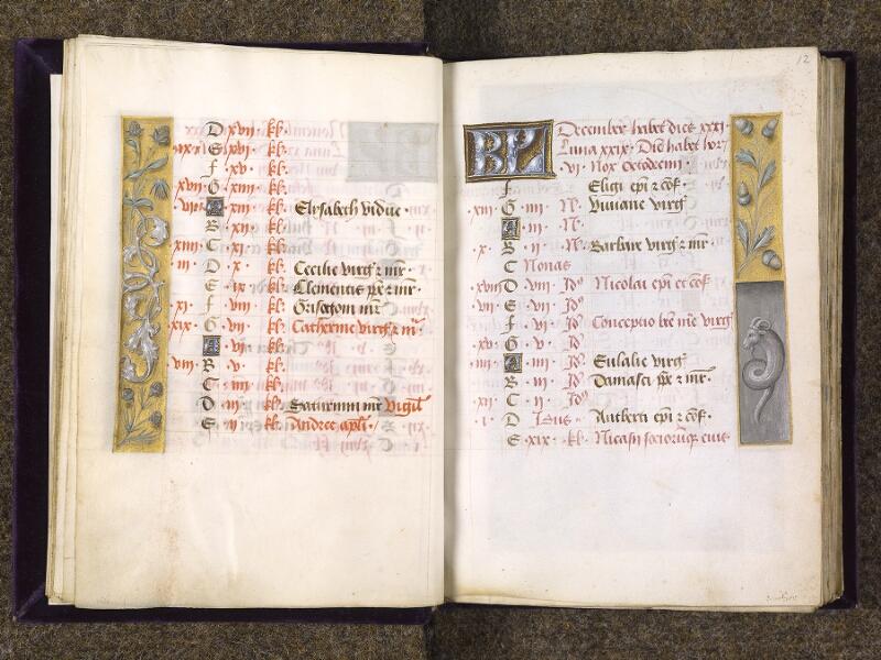 CHANTILLY, Bibliothèque du château, 0085 (1175), f. 011v - 012