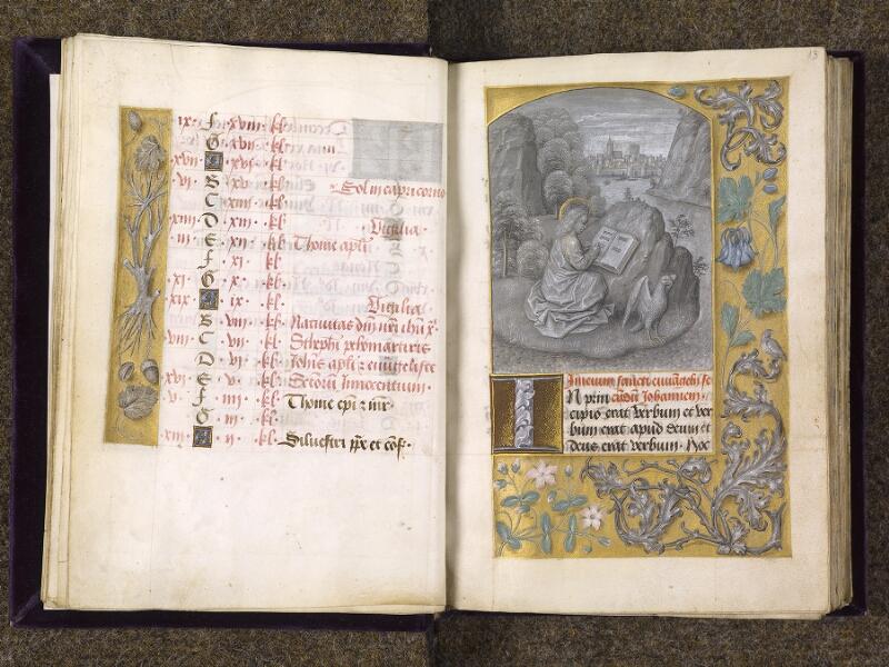 CHANTILLY, Bibliothèque du château, 0085 (1175), f. 012v - 013