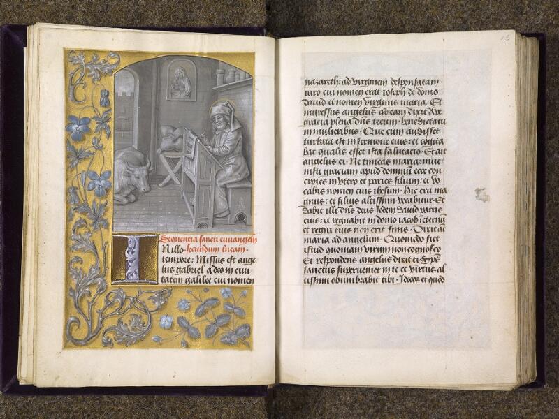 CHANTILLY, Bibliothèque du château, 0085 (1175), f. 014v - 015