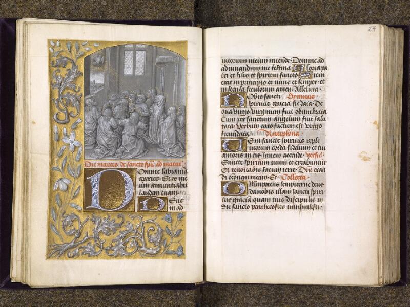 CHANTILLY, Bibliothèque du château, 0085 (1175), f. 026v - 027