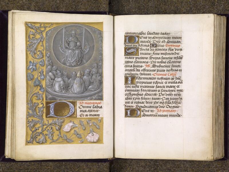 CHANTILLY, Bibliothèque du château, 0085 (1175), f. 029v - 030