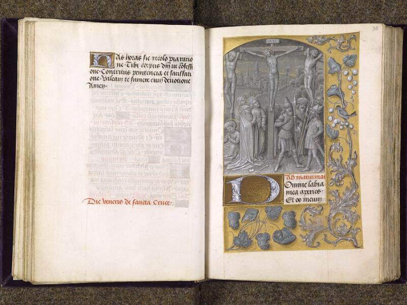 CHANTILLY, Bibliothèque du château, 0085 (1175), f. 034v - 035