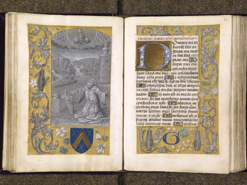 CHANTILLY, Bibliothèque du château, 0085 (1175), f. 053v - 054
