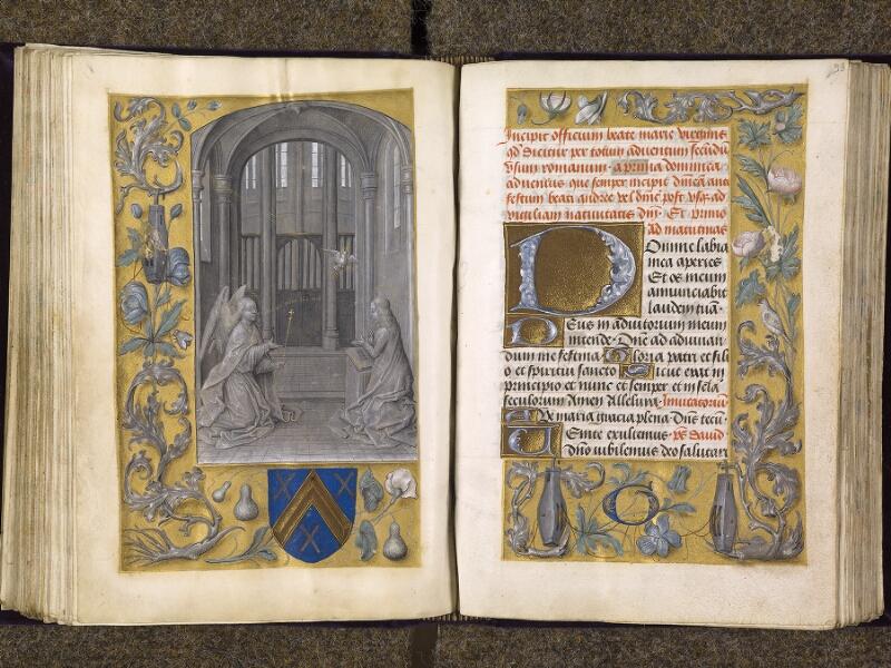 CHANTILLY, Bibliothèque du château, 0085 (1175), f. 092v - 093
