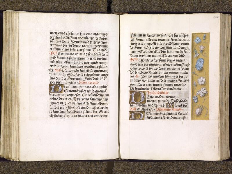 CHANTILLY, Bibliothèque du château, 0085 (1175), f. 101v - 102