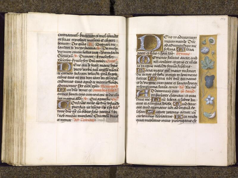 CHANTILLY, Bibliothèque du château, 0085 (1175), f. 109v - 110