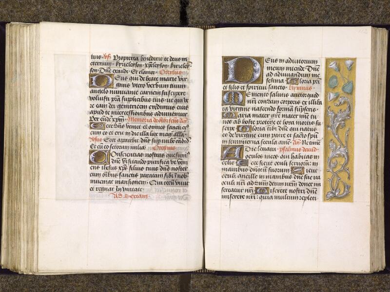 CHANTILLY, Bibliothèque du château, 0085 (1175), f. 111v - 112
