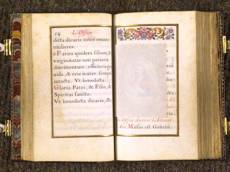CHANTILLY, Bibliothèque du château, 0092 (1673), p. 054 - 055