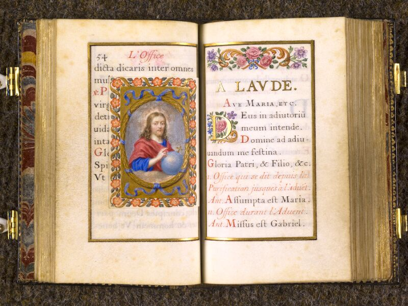 CHANTILLY, Bibliothèque du château, 0092 (1673), p. 054 - 055 bis