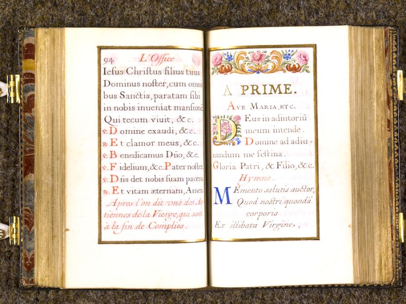 CHANTILLY, Bibliothèque du château, 0092 (1673), p. 094 - 095