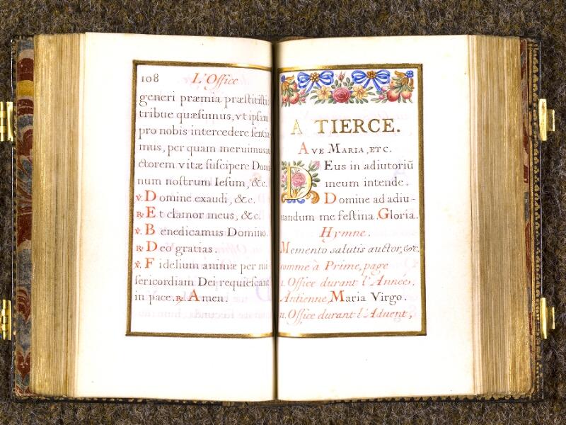 CHANTILLY, Bibliothèque du château, 0092 (1673), p. 108 - 109