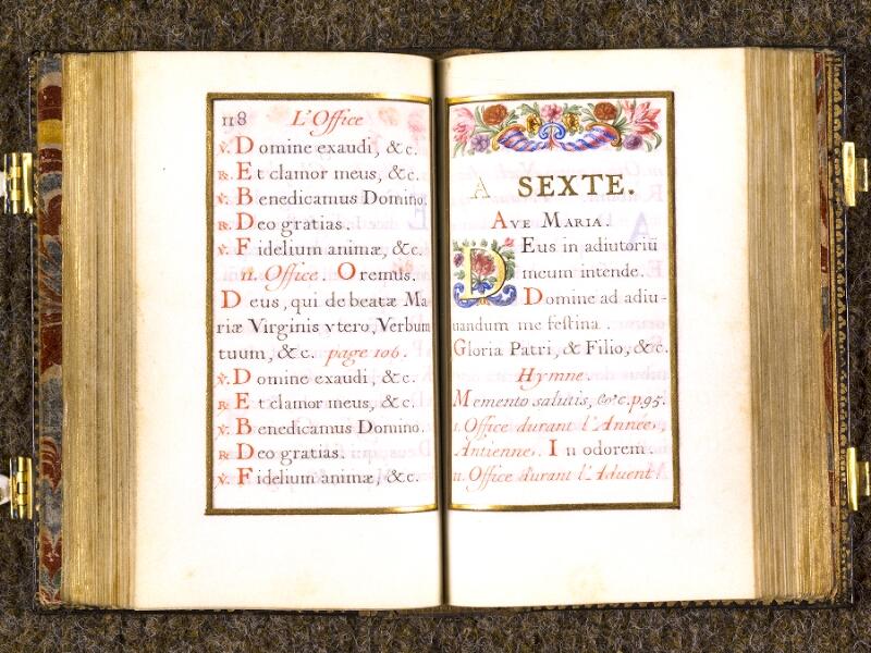 CHANTILLY, Bibliothèque du château, 0092 (1673), p. 118 - 119