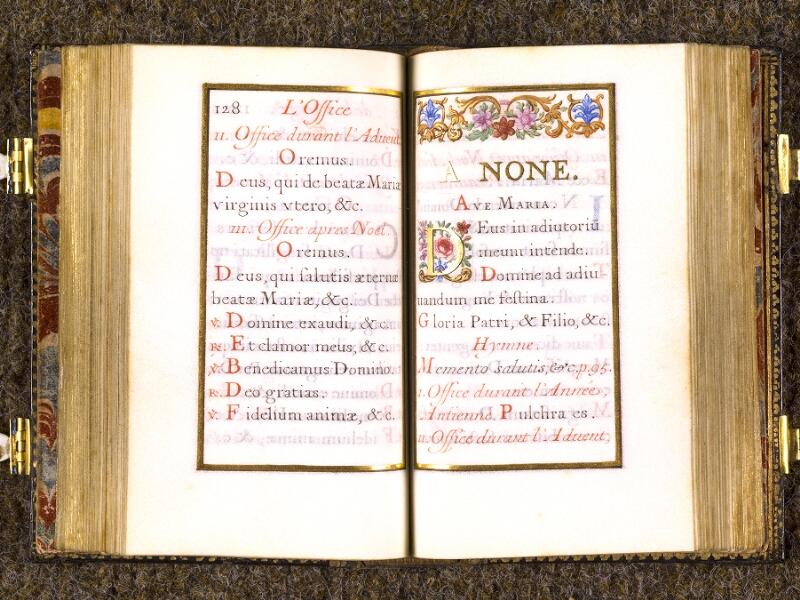 CHANTILLY, Bibliothèque du château, 0092 (1673), p. 128 - 129