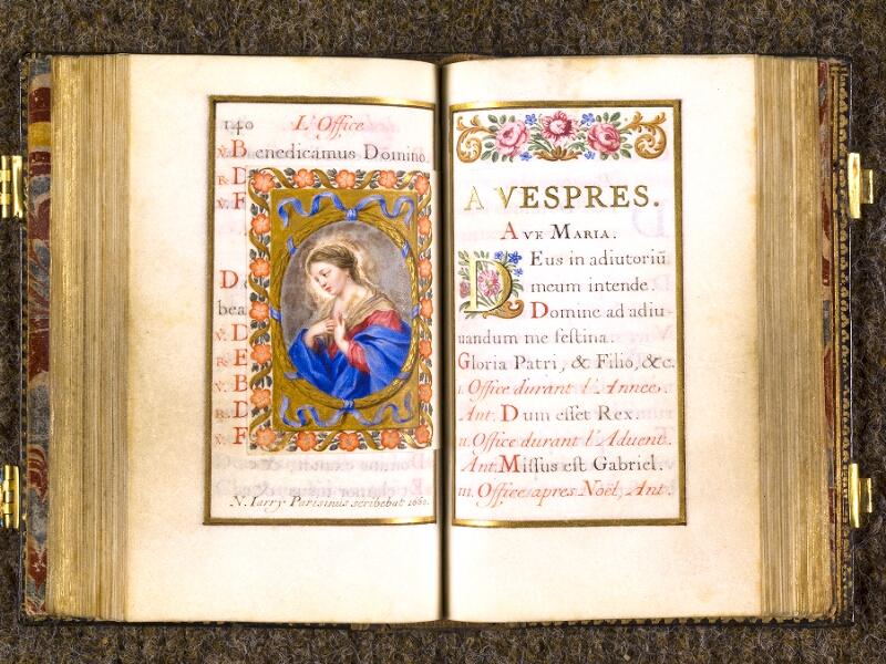 CHANTILLY, Bibliothèque du château, 0092 (1673), p. 140 - 141