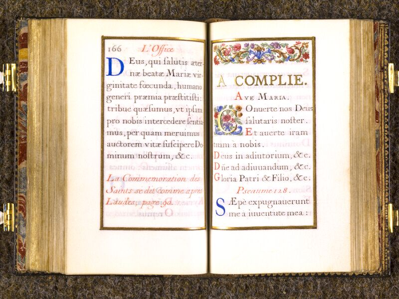 CHANTILLY, Bibliothèque du château, 0092 (1673), p. 166 - 167
