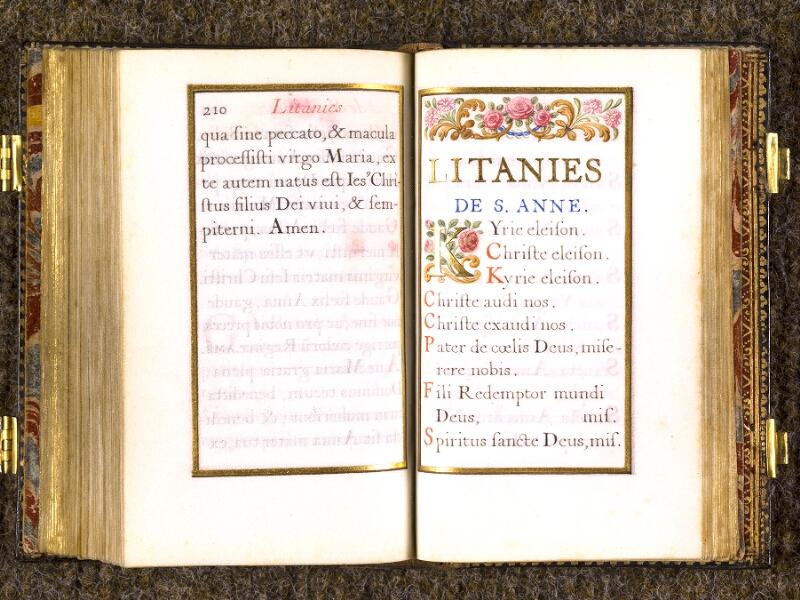 CHANTILLY, Bibliothèque du château, 0092 (1673), p. 210 - 211