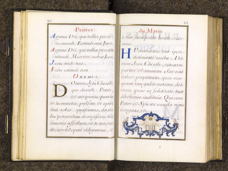 CHANTILLY, Bibliothèque du château, 0094 (1285), p. 020 - 021