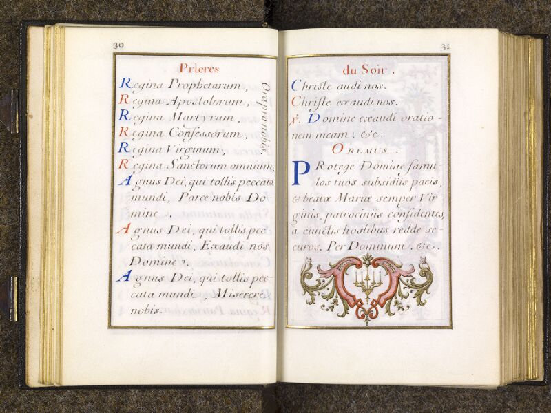 CHANTILLY, Bibliothèque du château, 0094 (1285), p. 030 - 031