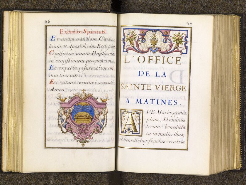 CHANTILLY, Bibliothèque du château, 0094 (1285), p. 066 - 067