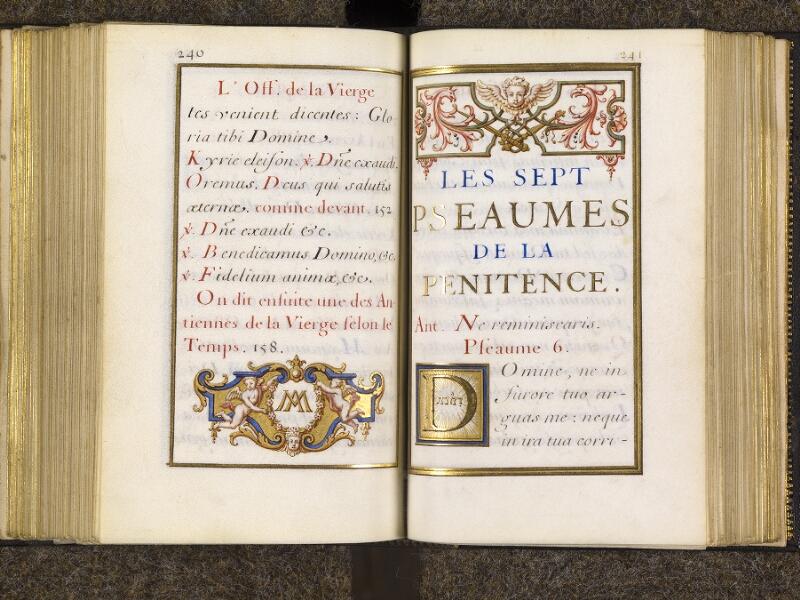 CHANTILLY, Bibliothèque du château, 0094 (1285), p. 240 - 241