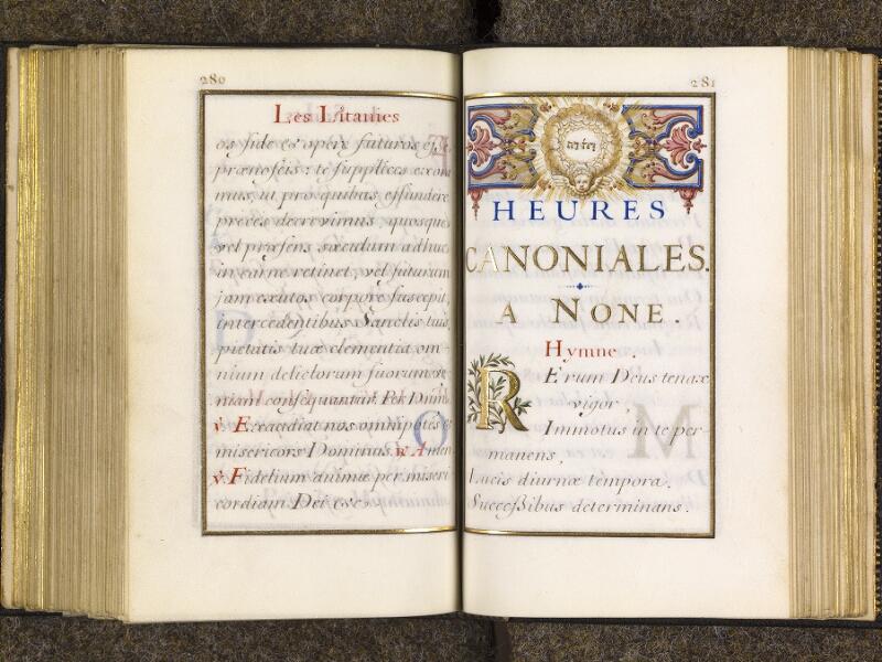 CHANTILLY, Bibliothèque du château, 0094 (1285), p. 280 - 281
