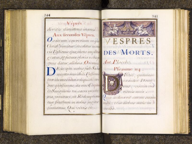 CHANTILLY, Bibliothèque du château, 0094 (1285), p. 344 - 345