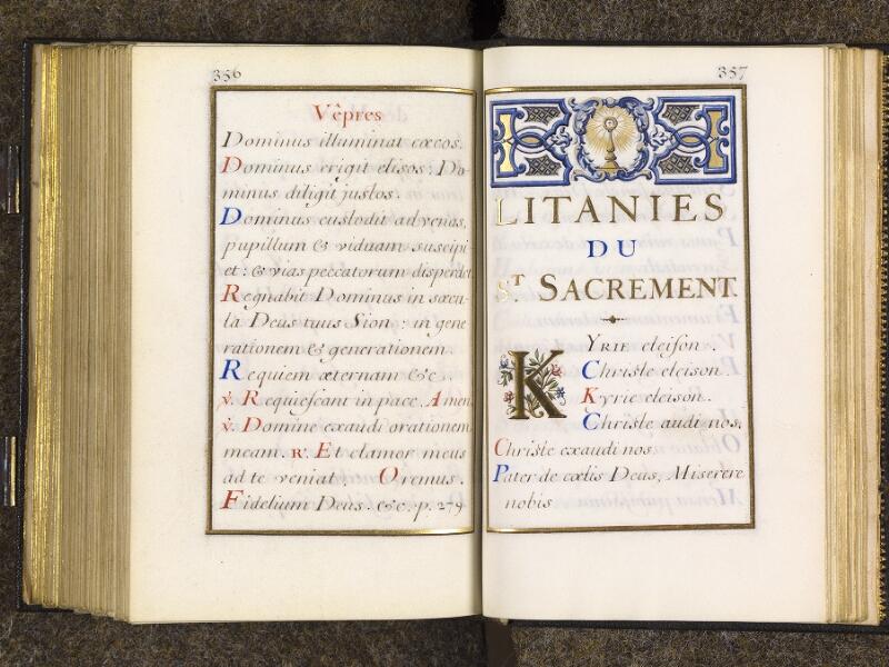 CHANTILLY, Bibliothèque du château, 0094 (1285), p. 356 - 357