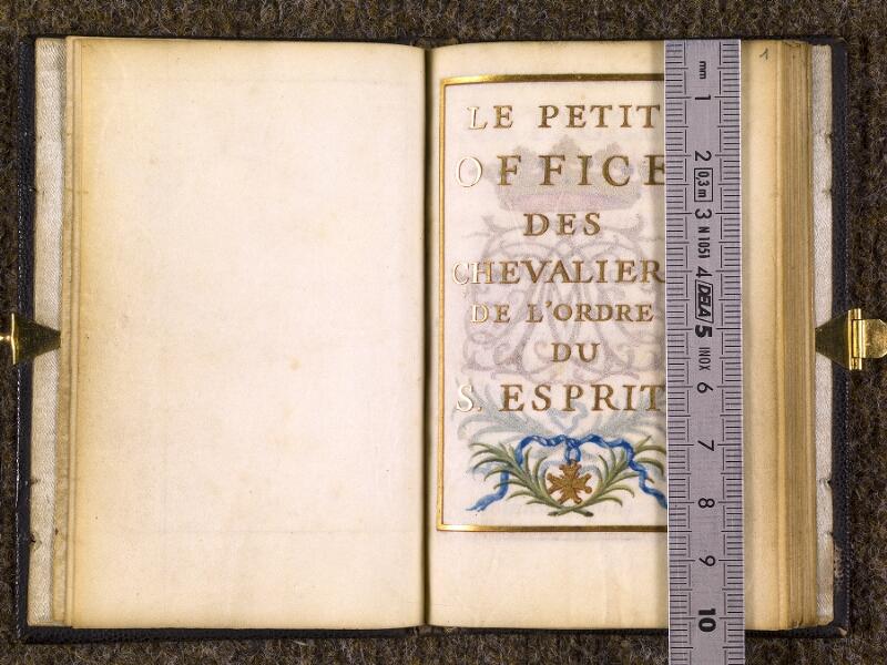 CHANTILLY, Bibliothèque du château, 0096 (1370), f. 000Bv - 001 avec réglet
