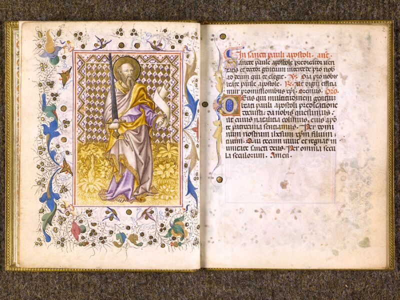 CHANTILLY, Bibliothèque du château, 0100 (1526), f. 001v - 002