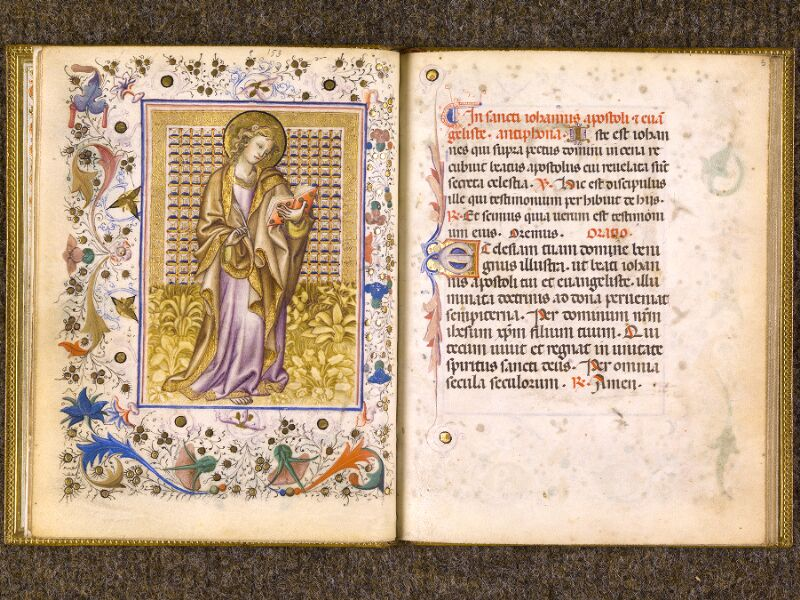 CHANTILLY, Bibliothèque du château, 0100 (1526), f. 004v - 005