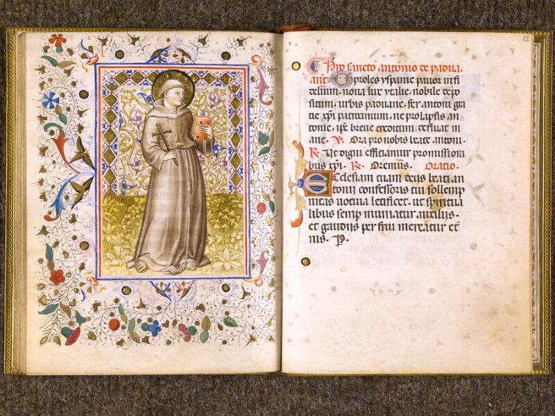 CHANTILLY, Bibliothèque du château, 0100 (1526), f. 021v - 022