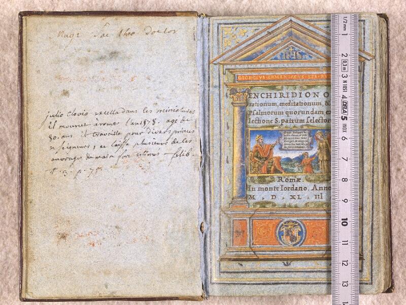 CHANTILLY, Bibliothèque du château, 0102 (1398), f. 000Av - 001 avec réglet