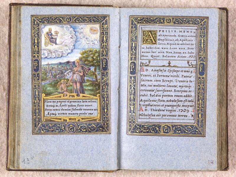 CHANTILLY, Bibliothèque du château, 0102 (1398), f. 013v - 014