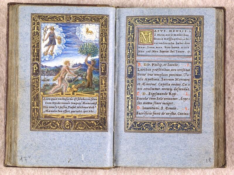 CHANTILLY, Bibliothèque du château, 0102 (1398), f. 017v - 018