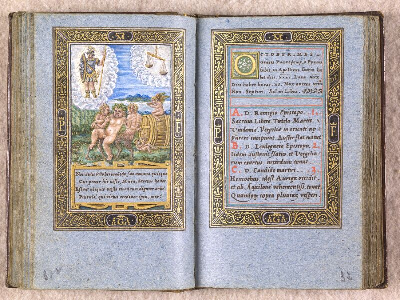 CHANTILLY, Bibliothèque du château, 0102 (1398), f. 031v - 032