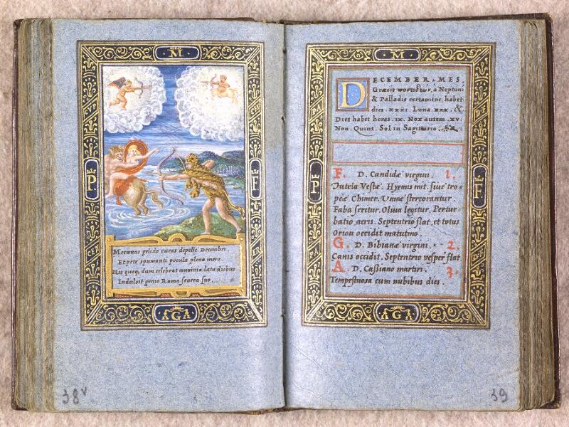 CHANTILLY, Bibliothèque du château, 0102 (1398), f. 038v - 039