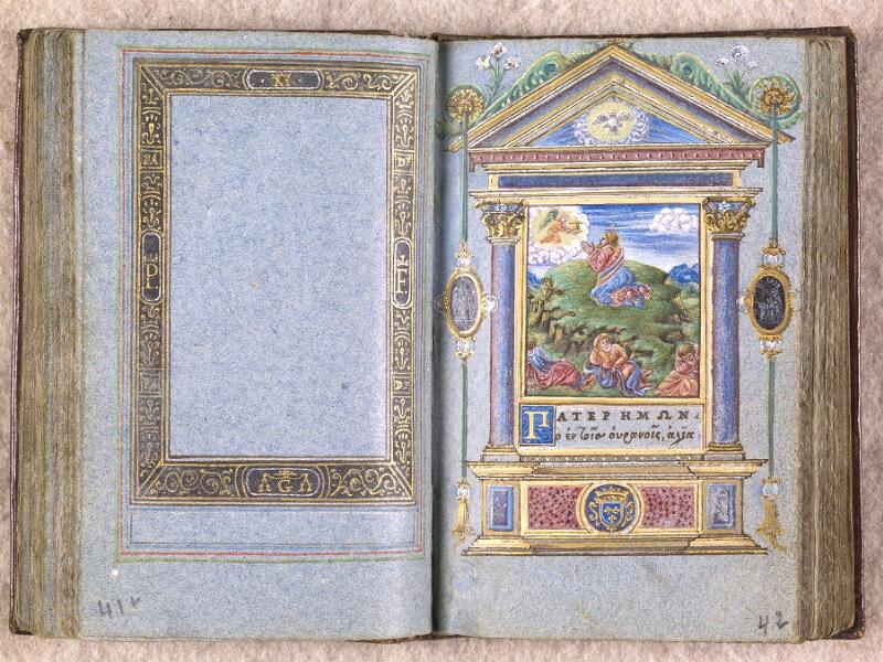CHANTILLY, Bibliothèque du château, 0102 (1398), f. 041v - 042