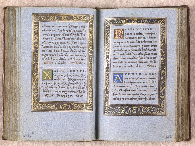 CHANTILLY, Bibliothèque du château, 0102 (1398), f. 042v - 043