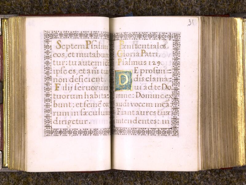 CHANTILLY, Bibliothèque du château, 0103 (1372), f. 030v - 031